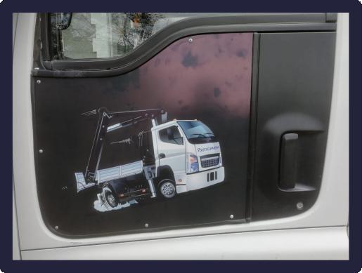 Изготовление и нанесение наклейки на автомобиль от 08.10.2019