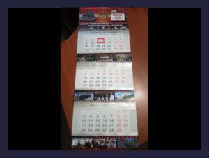 Изготовление календарей по индивидуальному заказу. 28.10.2019 г.